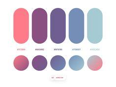 Dopely Colors designed by Mehdi Khodamoradi. Connect with them on Dribbble; the global community for designers and creative professionals. Flat Color Palette, Palette Art, Colour Pallette, Color Combinations, Color Schemes, Web Design, Colour Board, Planner, Grafik Design