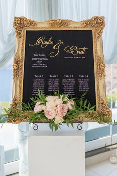 framed seating assignment