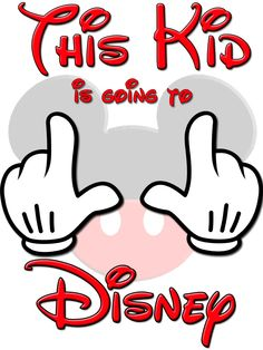 Going to Disney World Kids Vacation Shirts T-shirt Mickey Mouse Very Cute!