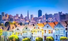 Painted Ladies San Francisco California #sanfrancisco #sf #bayarea #alwayssf #goldengatebridge #goldengate #alcatraz #california