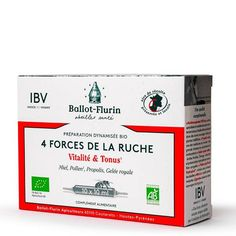 4 Forces de la Ruche Bio Ballot-Flurin Le Pollen, Propolis, Bio, Healthy Lifestyle, Spring Water, Royal Jelly, Nutritional Value, Beehive, Products