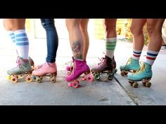 The Moxi Girls Are The Roller Girls Of Your Dreams - YouTube