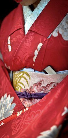 Kimono details, Japan