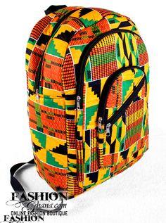 Kente African Print BackPacks