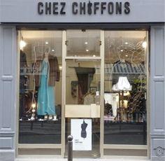 BOUTIQUE VINTAGE CHEZ CHIFFONS - 47 rue de Lancry, 75010 Paris