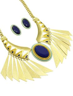 PWB04031 - Native statement necklace