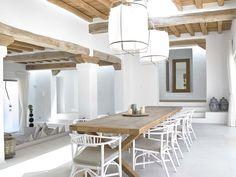 House Tour-Sun Soaked in Ibiza Moraira, Greek House, Beach House Decor, Home Decor, Menorca, Home Interior Design, Ibiza Style Interior, My Dream Home, Home Projects