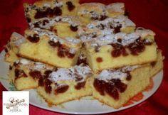 Érdekel a receptje? Kattints a képre! Hungarian Desserts, Hungarian Recipes, Bourbon Cake, Individual Desserts, Cherry Cake, Eat Seasonal, Baking And Pastry, Sweet Bread, No Bake Desserts