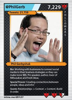 Working with businesses to connect social media to their business strategies so they can make more $$$. Pro speaker, author, lover of Milwaukee and fresh ideas.