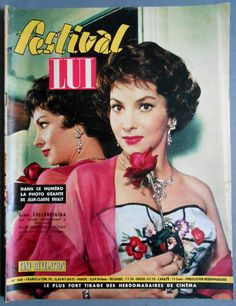 ►festival LUI N°568 1960 Gina Lollobrigida Sandra DEE Bella Darvi Dany Carrel | eBay