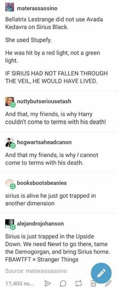 I didn't know I needed a Fantastic Beasts/Stranger Things crossover in my life until just now.