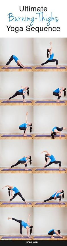 """Burning Thighs Yoga Sequence: Your Shorts Will Say, """"More Please!"""" by Divonsir Borges"""
