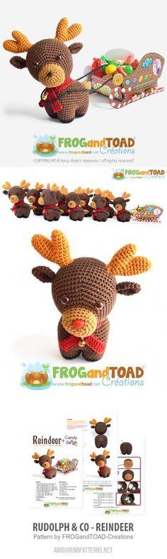 Rudolph & Co - Reindeer Amigurumi Pattern