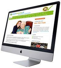 De Wit Thuiszorg nieuwe website gemaakt door PMLinternet en online marketing en exposure geregeld