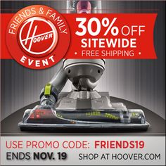 Giveaway – Hoover Presto 2-In-1 Cordless Vacuum + Coupon! We have an awesome Hoover coupon for 30% off site wide sale plus free shipping!! To celebrate this great deal, the awesome Hoover people ...