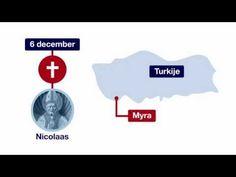 In 60 seconden: De geschiedenis van Sinterklaas en Zwarte Piet - YouTube