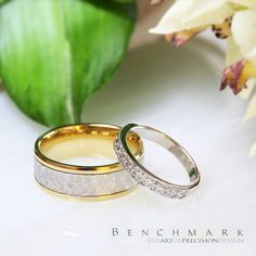 We're just going to leave these beauties here  Find more of our great wedding ring selection by following the link in our bio! . . . . Style # (L to R) CF188303 & 513729W. #benchmarkrings #fashion #style #love #amazing #beautiful #gold #diamonds #mensfashion #menswear #mensstyle #womensfashion #womenswear #womensstyle #jewelry #wedding #weddingring #weddingband #engagement #engagementring #madeinusa #picoftheday