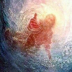 Jesus loves you. When you're in deep water call on him and He'll save you.