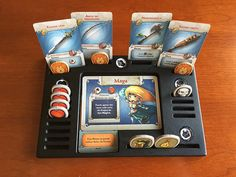 Arcadia Quest Game Gear by DeckedOutGames on Etsy