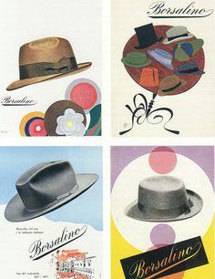 Borsalino hats- anni '50