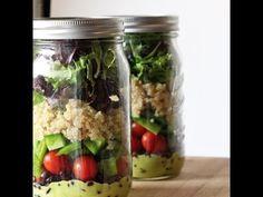 Como Fazer Salada para Semana Toda - Projeto Vida Toda #41 - YouTube
