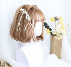 Anime Wigs, Anime Hair, Kawaii Hairstyles, Cute Hairstyles, Kawaii Wigs, Lolita Hair, Cute Hair Colors, Cosplay Hair, Special Occasion Hairstyles