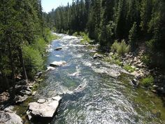 The Stanislaus River - Calaveras Big Trees State Park, Arnold, California