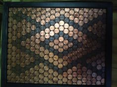 Framed pennies