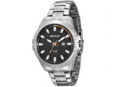 Relógio Masculino Seculus Analógico - Resistente à Água Long Life 23575G0SVNA1