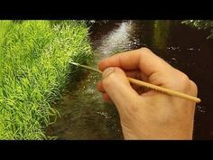 How to paint a tree in Acrylics lesson 5 - YouTube #LandscapeOleo #OilPainting