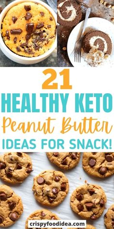 Snacks Recipes, Easy Snacks, Keto Snacks, Keto Recipes, Low Sugar Recipes, No Sugar Foods, Keto App, Peanut Butter Snacks, Diabetic Meals