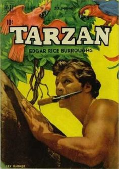 Edgar Rice Burroughs' Tarzan (Sep-Oct Dell) for sale online Tarzan Movie, Tarzan Of The Apes, Real Movies, Nostalgia, Old Comics, Tv On The Radio, Comic Covers, Retro, Golden Age