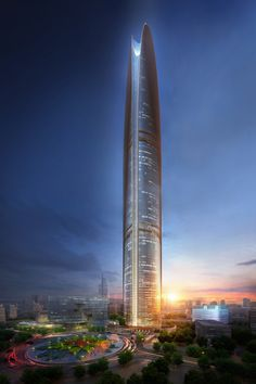"SOM Unveils 500-Meter ""Energy Tower"" for Jakarta"
