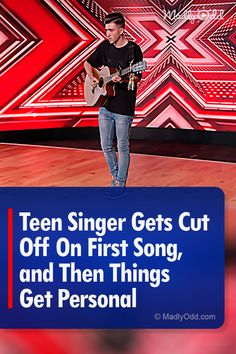 Christian Burrows had initially chosen a John Denver song to sing. Simon asked him for something more personal and boy, did he deliver. Talent Show, America's Got Talent, Pop Music, Live Music, Voice Auditions, Perfect Music, Britain Got Talent, John Denver, Show Video