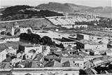 Cagliari panorama verso la Sella, San Lucifero
