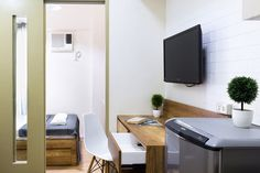 Nordic style flat w/ balcony - Serviced apartments for Rent in Makati, Metro Manila, Philippines Makati, Serviced Apartments, Nordic Style, Condominium, Manila, Scandinavian, Cozy, Flooring, Towers