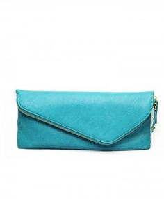 hanna clutch in turquoise