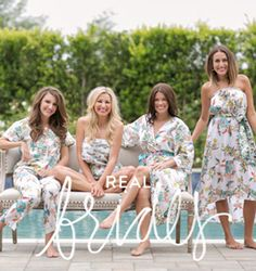 Cute loungewear #plumprettysugar #bridesmaids