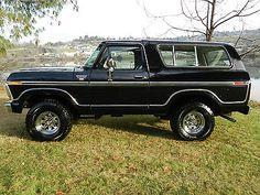 1979 Bronco XLT 79 Ford Truck, Old Ford Trucks, Old Pickup Trucks, Suv Trucks, Cool Trucks, Bronco Concept, 1979 Ford Bronco, Classic Ford Trucks, Chevrolet Blazer
