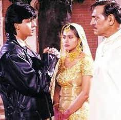Shahrukh Khan, Kajol and Amrish Puri - How to Impress the Father of the Bride - Dilwale Dulhania Le Jayenge - DDLJ (1995)