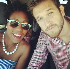 The ever popular Nive Nulls ~ Gorgeous interracial couple #love #wmbw #bwwm