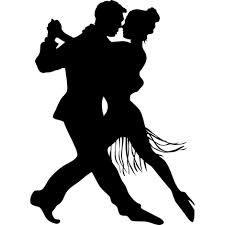 Resultado de imagen de siluetas bailando