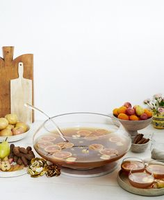 Around the World in a Punch Bowl: 5 Big-Batch Drinks for Festive Parties — The Global Punch Bowl