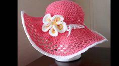 Sombreros para playa tejido a crochet