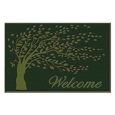 First Impression Shredding Leaves Welcome Doormat - A1HOME200034, Durable