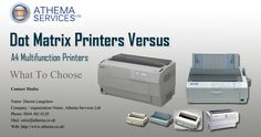If you are looking to buy a variety of A1 colour plotters and Dot matrix printers in your budget and according to your preferred model number. #DotMatrixPrinters