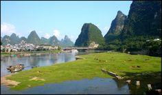 Guangxi en Guizhou, China