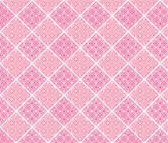 Lace in pink fabric by art_is_us on Spoonflower - custom fabric