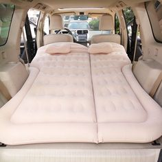 Suv Camping, Outdoor Camping, Camping Hacks, Camping List, Camping Supplies, Camping Essentials, Accessoires Camping Car, Inflatable Bed, Air Mattress