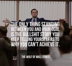 leonardo dicaprio quotes the wolf of wall street